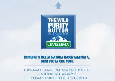 Levissima: The Wild Purity Button