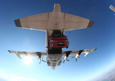 Chevy Sonic SkyDive