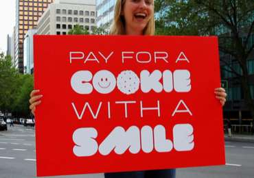 Pay with a smile - Project Change