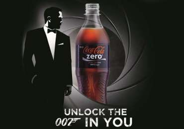 "Coca-Cola Zero: ""Unlock the 007 in you"""