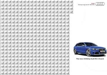 Audi: Horse Power - 444bhp Audi RS 4 Avant