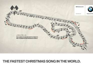 BMW: The Fastest Christmas Song in the World