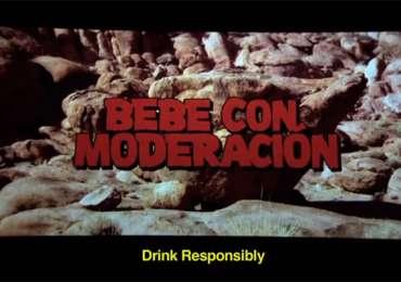 Corona Extra: Drink responsibly