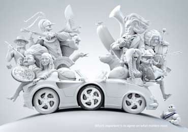 Michelin: Italy - Germany, France - Great Britain, USA - Japan