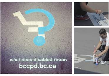 BC Coalition for People with Disabilities: Question Mark