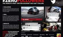 Fiat Abarth: #ZeroFollowers – Scheda