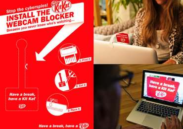 Kit Kat: Webcam Blocker