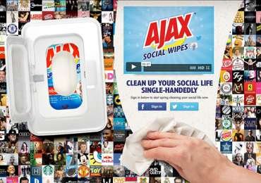 Ajax: Ajax Social Wipes