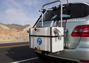 Mercedes Benz F-Cell Technology: Defying Death Valley