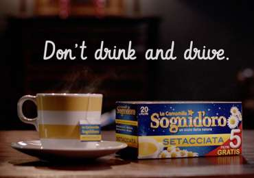 Camomilla Sogni d'Oro: Don't Drink and Drive