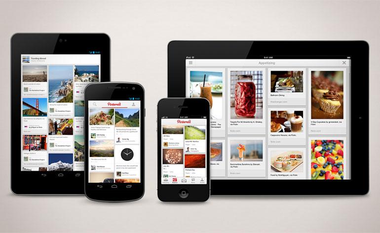 Pinterest in Mobilità