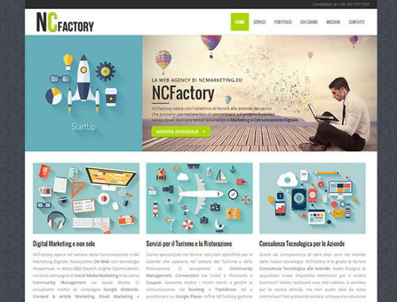 NCFactory la Web Agency di NCMarketing