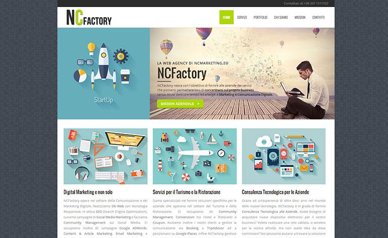 NCFactory la Web Agency di NCMarketing