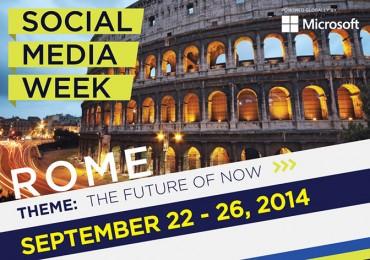 Social Media Week Rome: Ripartire dai Social
