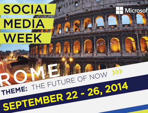 Social Media Week Rome: Ripartire dai Social